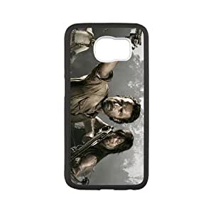 The Walking Dead Samsung Galaxy S6 Cell Phone Case White WS0225450