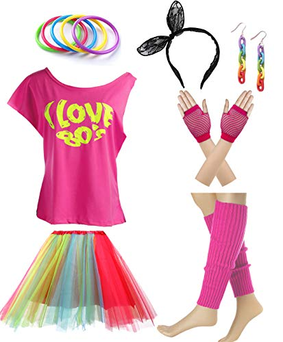 I love 80s 1980s Costume Accessories Outfit