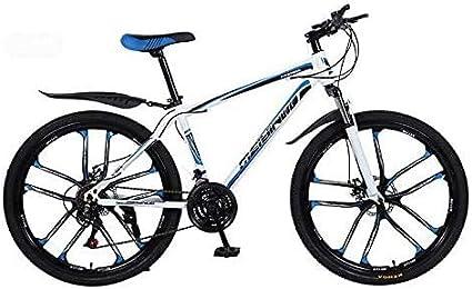 Ligero, Montaña for Bicicleta, PVC y todos los pedales de aluminio, marco de acero de alto carbono y aleación de aluminio, doble freno de disco, 26 pulgadas Ruedas Liquidación de inventario