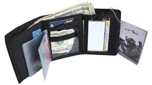 Explorer Bags W1-BK Wallet, W1, Black