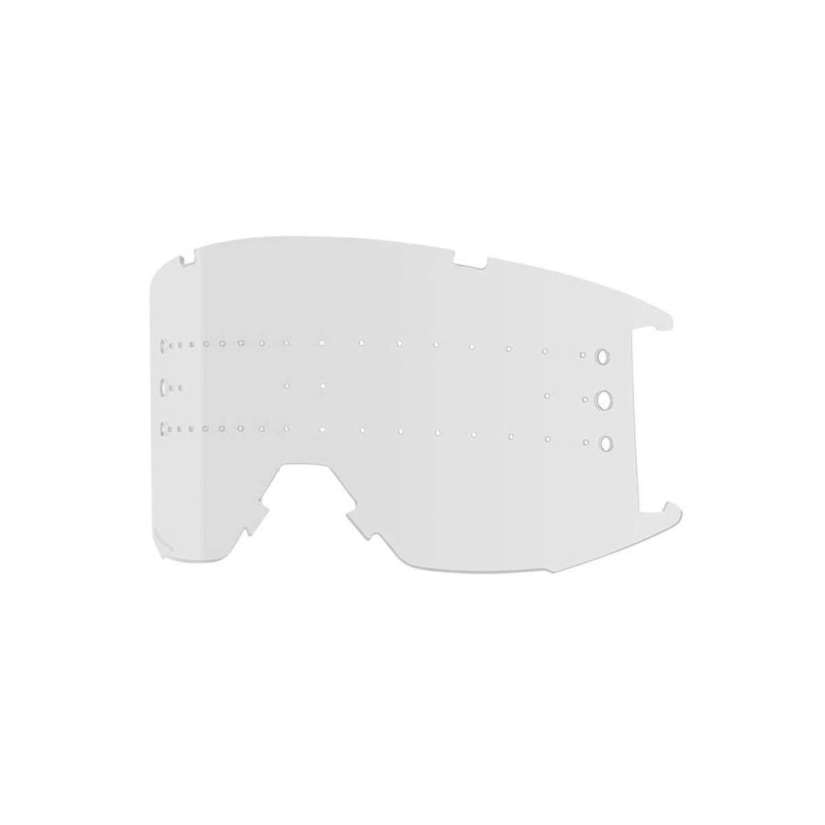 Smith Optics Squad XL MTBゴーグル 交換用レンズ クリア 曇り止め 400726LEN00MY