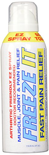 Freeze It Advanced Therapy, Spray, 4-Ounce (Freeze It Spray compare prices)