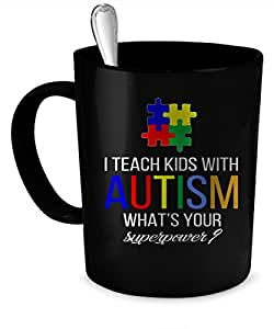 Autism Teacher Coffee Mug. Autism Teacher gift