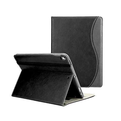 (Compatible iPad Pro Apple 10.5 Case with Pencil Holder and Multiple Viewing Angles,Soft TPU Smart Cover for iPad Pro 10.5)