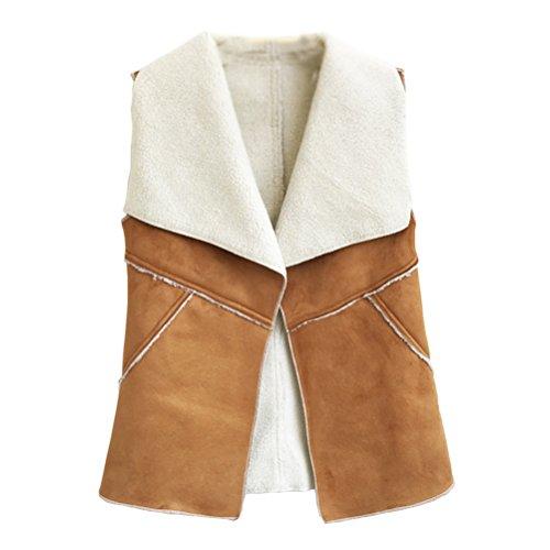 Cropped Fur Vest - 4