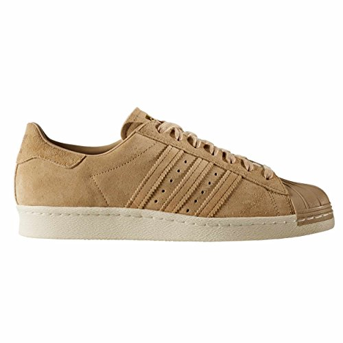 Adidas Superstar 80s scarpe uomo BB2227 khaki/gold Sneakers 42 EU - 8UK