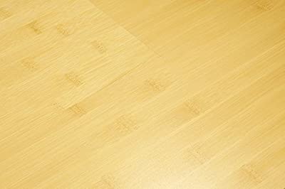 "AMERIQUE GLHN190019014 7-1/2"" x 9/16"" x 74-3/4"" Prefinished 6' Engineered Bamboo Flooring Glueless Click, 31.09 sq. ft, Horizontal Natural"