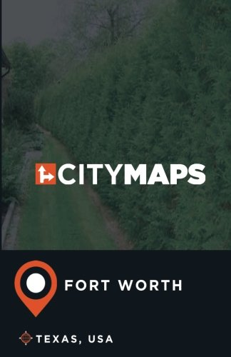 City Maps Fort Worth Texas, USA