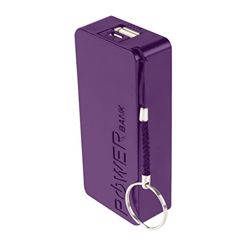 Vivitar VM30014-PUR-TWD 2600 mAh Power Bank, Purple by Vivitar