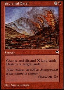 Magic: the Gathering - Scorched Earth - Tempest