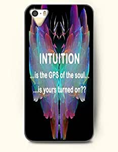 iPhone 5 5S Case OOFIT Phone Hard Case ** NEW ** Case with Design Intuition Is The Gps Of The Soul Is Yours Turned On- Rocks - Case for Samsung Galaxy Note3 Kimberly Kurzendoerfer
