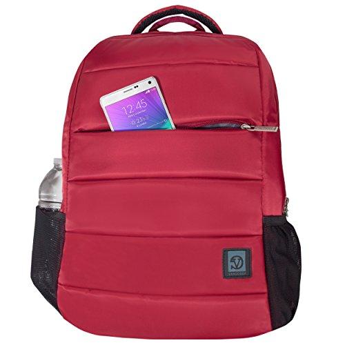 Anselmo Double Padded Big Student Classics Backpack for Lenovo Z40-70 14 | Z41-70 | Z50-70 | MSI GT Series | Prestige 15.6