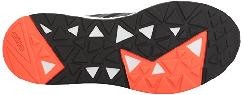 adidas Men's Questar BYD, core Black/Solar red, 6.5 M US by adidas (Image #3)