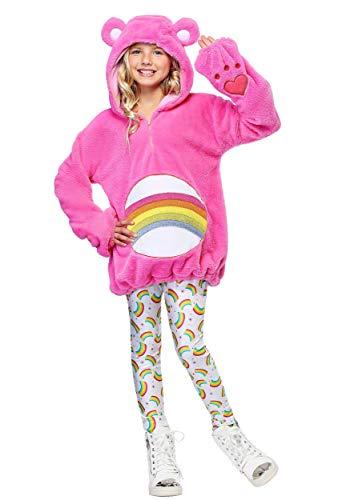 Care Bears Deluxe Cheer Bear Tween Hoodie Costume Large]()