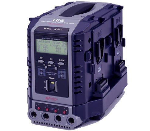 IDX/アイディーエクス 液晶表示機能付4チャンネル同時急速充電器[VAL-4Si]   B007NR0E4A