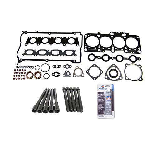 Head Gasket Set Bolt Kit Fits: 97-06 Audi A4 TT Quattro VW Golf Jetta 1.8L - Audi Head