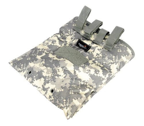 Lancer Tactical CA-341 Large Foldable Dump Tactical Airsoft Storage Pouch (ACU)