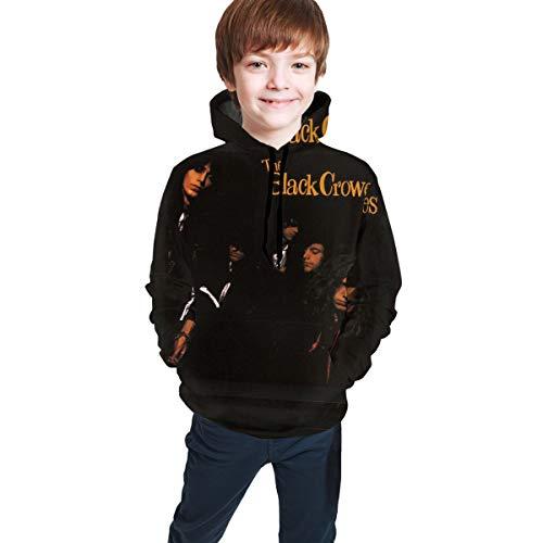 Guiping My Morning Song Teen Hooded Sweate Sweatshirt Black The Black Crowes