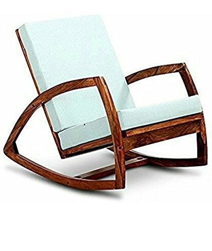 Stupendous Cherry Wood Sheesham Wood Rocking Chair With Cushion For Gmtry Best Dining Table And Chair Ideas Images Gmtryco