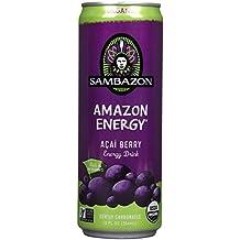 Sambazon Amazon Energy - Acai Berry - 12oz(Pack of 12)