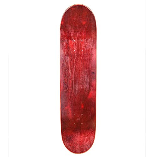 - Cal 7 Blank Skateboard Deck | 7.75, 8.0, 8.25 and 8.5 Inch | Maple Board for Skating (8.5 Inch, Red)