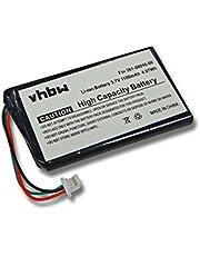 vhbw Accu compatibel met Garmin DriveSmart 5, 50 LMT-D, 51 LMT-D EU, 55, 61 LMT-S, 65 GPS navigatie navigatie (1100 mAh, 3,7 V, Li-Ion)