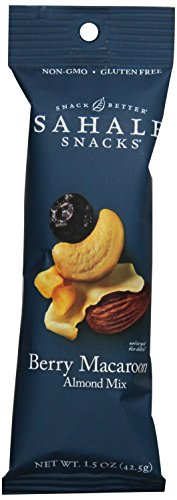 Mix Macaroon Coconut (Sahale Snacks Grab & Go Berry Macaroon Almond Trail Mix, Gluten-Free Snack,1.5-Ounce, 18 count)