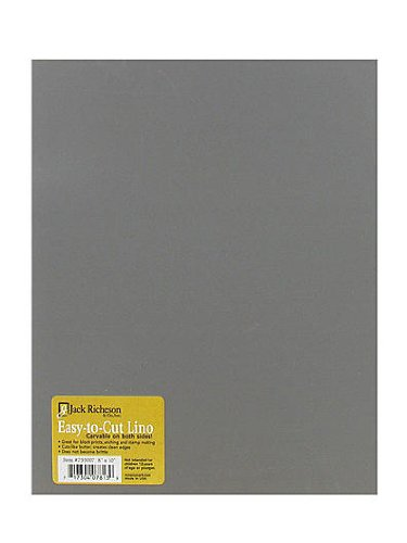 Unmounted Easy-to-Cut Linoleum 9 in. x 12 in. Jack Richeson 799008