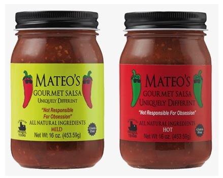 (Mateos Gourmet Salsa, Hot & Mild 16 oz (Variety Pack))