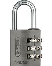 Abus 46585 - 145/30 30 mm combinatie van aluminium hangslot