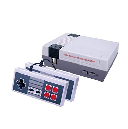 OuYang The New NES Game Consoles 8-bit Video Game Console USB Controller,FC Mini Classic Game Consoles Built-in 620 TV Video Games with Double Controllers Nintendo Entertainment System (NES 620)