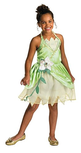 [Princess Tiana Classic Costume - Small (4-6x)] (Tiana Costume For Infant)