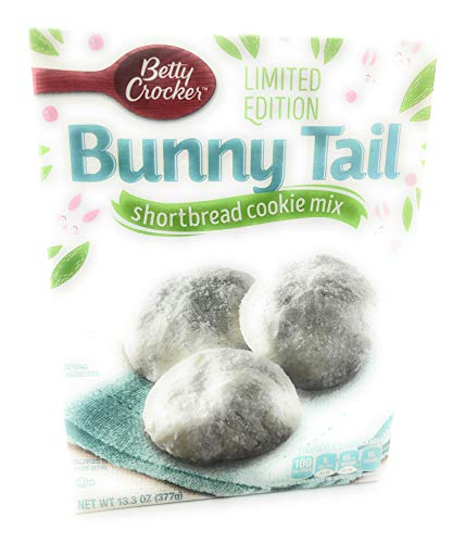 Betty Crocker Bunny Tail Limited Edition Shortbread Cookie Mix 13.3]()