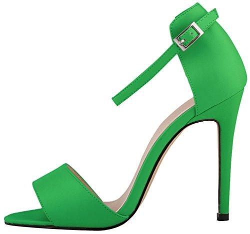 CFP - Zapatos con tacón mujer SGreen