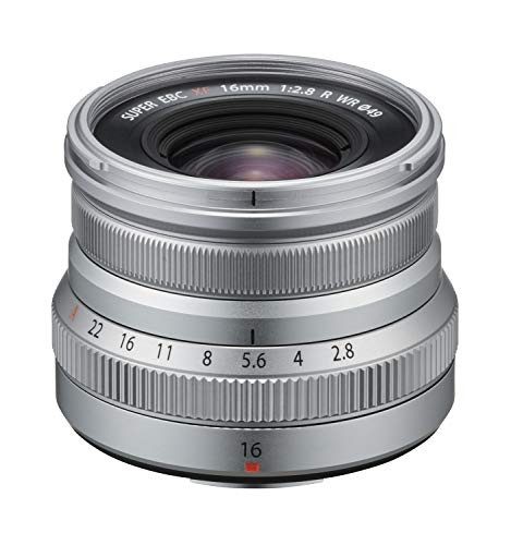 Fujinon XF16mmF2.8 R WR Lens – Silver