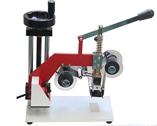 60W Manual hot stamping machine printing machine hot stamping tool thermal ribbon printer plastic bags Steel seal code 220V by YJINGRUI (Image #5)