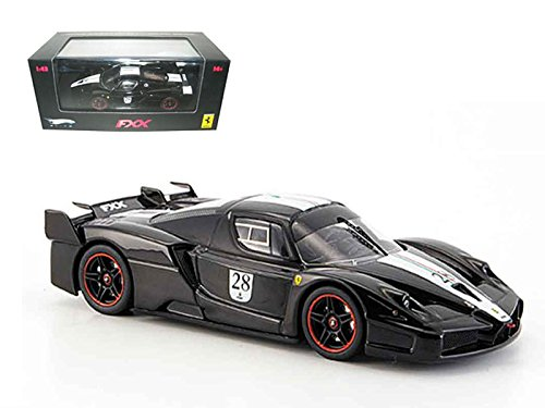 Ferrari Enzo Fxx - Maisto Hot wheels Ferrari Enzo FXX Car Model Black #28 Elite Limited Edition 1/43 Model Car by Hotwheels