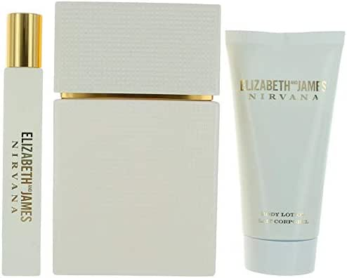 Elizabeth and James Nirvana White Gift Set, 3 Count