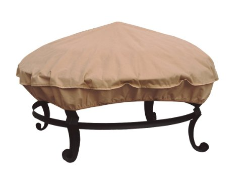 """The Allen Company Modern Leisure 36"""" Fire Pit Cover"""