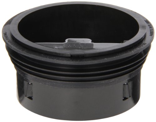 SureSeal SS3000 3-Inch Floor Drain Trap Sealer, Black, 1-Pack