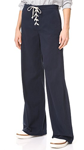 splendid-womens-lace-up-twill-pant-navy-xs