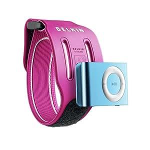 Belkin Sport Armband for iPod shuffle 2G, Pink - fundas para mp3/mp4 (Pink) Rosa