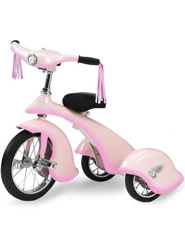 Morgan Cycle Pink Fairy Retro Tricycle by Morgan Cycle