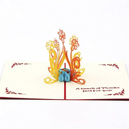 [해외]GBSELL 3D Pop Up Cards Valentine Lover Happy Birthday Anniversary Father`s Day Greeting Cards (B) / GBSELL 3D Pop Up Cards Valentine Lover Happy Birthday Anniversary Father`s Day Greeting Cards (B)