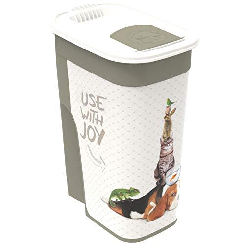 Rotho Aufbewahrungsbox für Tierfutter aus Kunststoff (PP) - Volumen 4.1 Liter, L