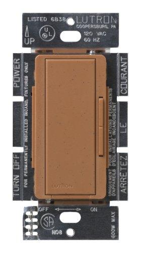 Lutron MSC-AD-TC Maestro 600-Watt Accessory Dimmer Terracotta - Wall on