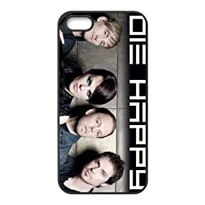 iPhone 4 4s Cell Phone Case Covers Black Die Happy Durable Plastic Phone Case ZJS