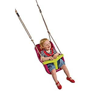 Little Duck Bear High Back Baby Swing Seat With 3-Attachment Point T-Bar For Children's Swing Frames, Child Swing Seat…