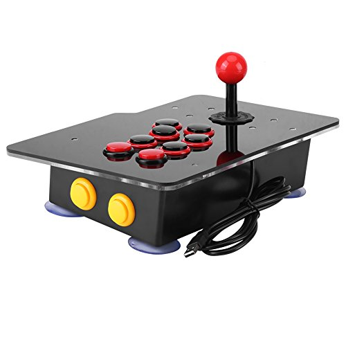 Arcade Fight Stick Games Machine with USB for PC Home, Joystick Zero Delay Classical Game Controller (#2)