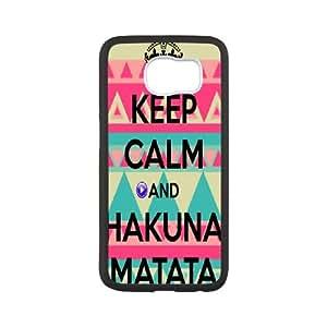 Custom Case Hakuna Matata for Samsung Galaxy S6 X3G9236253